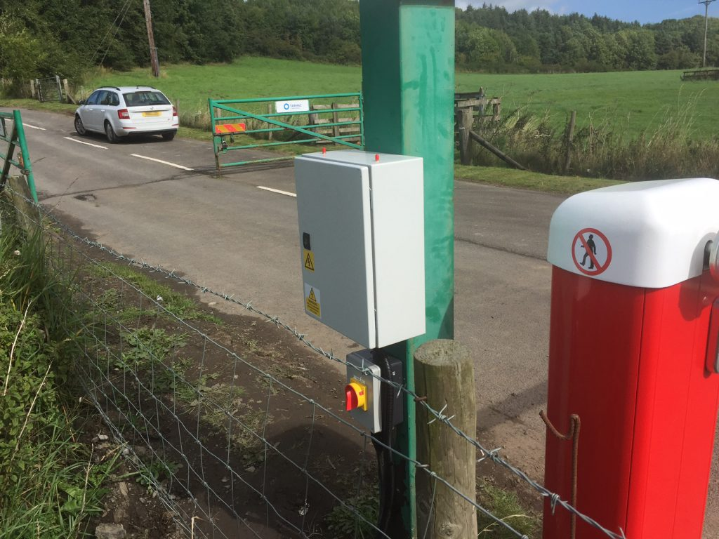Automatic Barrier ANPR Control Panel