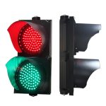TS RED GREEN ASPECT 200mm Traffic Light Signal Head for Pedestrian Crossing